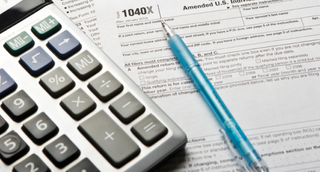 how to amend a state tax return